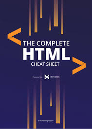 Html5 Cheat Sheet The Complete Html Cheat Sheet Codeburst