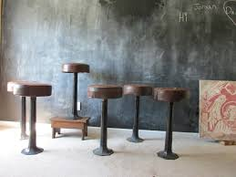 antique white bar stools. Antique Cast Iron Bar Stools White
