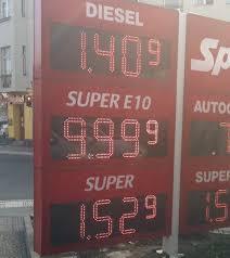 Benzinpreise aktuell