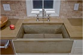 concrete farmhouse sink. How To Make Concrete Farmhouse Sink On Floor Kitchen Great Cement Countertop Diy Co O
