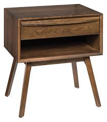 mid century modern bedside table. Hastingwood Mid Century Modern Bedside Table B