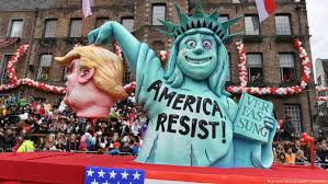 arab spring and western winter look before you leap qantara de drastic satire in dusseldorf new yorkprimes statue of liberty is shown