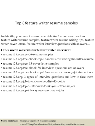 Writer Resume Cool Top 44 Feature Writer Resume Samples