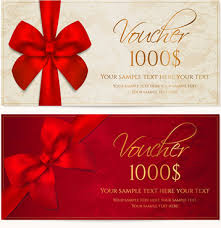 Gift Voucher Free Template Gift Voucher Template Vector Free Vector Download 17 656 Free