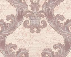 Barok Behang Edem 1026 13 Vinylbehang Gestructureerd Met Ornamenten