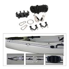 Sealect Designs Anchor Trolley Kit For Kayaks Amazon Com Pad Eye Anchor Trolley Kit For Kayak Diy