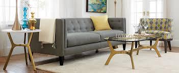 kids furniture crate barrel furniture crate and barrel sofa aidan grey tufted sofa in