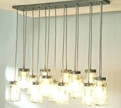 multi light pendant kit jar chandelier pottery barn bulb simple 8 edison black led ligh