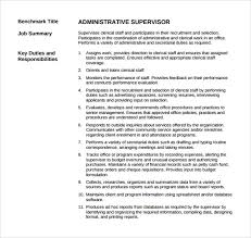 Supervisor Resume Stunning 28 Sample Supervisor Resumes To Free Download Sample Templates