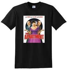 New The Apartment T Shirt 1960 Movie Bluray Poster Small Medium Large Or Xl