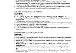 Data Management Resume Sample Sap Mdm Resume Samples Mdm Resume Resume Ideas The Hakkinen