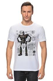 <b>Футболка классическая</b> Стальной гигант / The <b>Iron</b> Giant #2600933