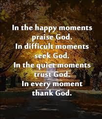 Praising God Quotes