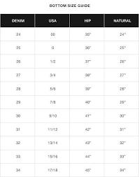 Miss Me Jeans Size Chart 36 Emma Lous Boutique