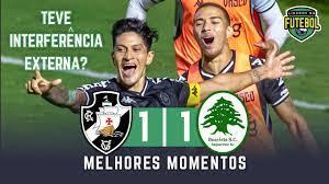 Vasco 1 x 1 Boavista | Melhores Momentos | Copa do Brasil 09/06/2021 -  YouTube