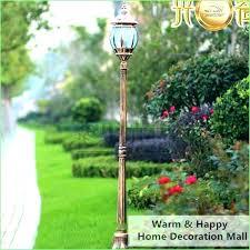 3 light lamp post low voltage outdoor lamp post yard lamp post lighting low voltage garden 3 light lamp post