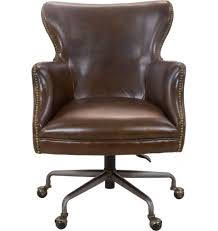 vintage leather office chair. maya leather office chair, vintage cigar chair