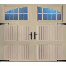 lowes garage door insulationShop Pella 96in x 84in Insulated Wicker TanSandtone Single