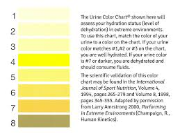 Army Hydration Chart Us Army Public Health Command Urine Color Hydration Chart