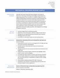 Sample Resume For Mechanical Design Engineer Pdf Inspirationa Resume