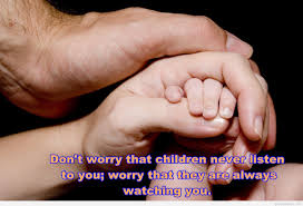 hands parenting quote hd wallpaper