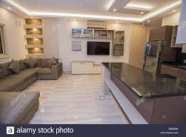 Show Living Room Designs Living Room Lounge In Luxury Apartment Show Home Showing