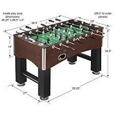 foosball table dimensions. Foosball Soccer Table Family Game Dimensions D
