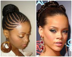 Black Braided Bun Hairstyles Pictures On Black Braided Bun Hairstyles For Men
