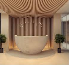 office front desk design design. 2nd reception desk featuring interesting and intriguing design office front
