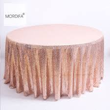 new year s tablecloths decoration sequin table cloth wedding for decorative round tablecloths