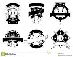 Baseball Design Templates Baseball Design Templates Stock Vector Illustration Of Ball