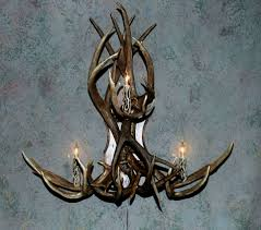 antler wall sconces