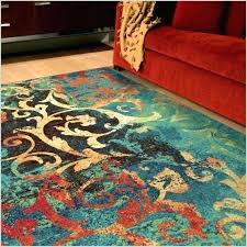 red and green area rugs turquoise rug 5 gallery the brilliant colored gal