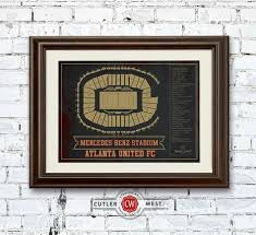 Atlanta United Seating Chart Mercedes Benz Atlanta United F C Mercedes Benz Stadium Stadium Vintage