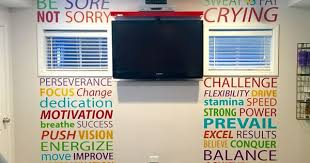 Home <b>Gym</b> - Home <b>gym</b> layout ideas <b>Gym wall decal</b> - http://amzn.to ...