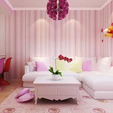 Pink Living Room Chairs Aliexpresscom Buy Vertical Stripes Mediterranean Wallpaper Non