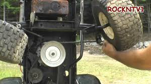 John Deere's Are HARD To Work On    YouTube also John Deere L130 Height Quadrant Part   GY20431   eBay together with How To Reattach a Mower Deck on A John Deere Lawn Mower   YouTube moreover Replacing Front Axle on a John Deere 100 series tractor   YouTube also John Deere 750  Business   Industrial   eBay together with John Deere Traction Drive Belt For 100 Series   John Deere besides John Deere L100 Vs  John Deere L120   eBay together with GARDEN TRACTOR WHEEL ALIGNMENT   YouTube also  furthermore  furthermore . on john deere l130 parts tires