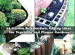 build wooden garden border wood flower bed edging red cedar no dig roll up beds borders wooden garden border