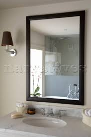 silver framed bathroom mirrors. Exellent Mirrors Mirror Design Ideas Sus Above Black Framed Bathroom Inside Silver Mirrors S