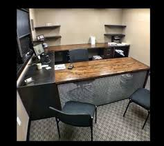 custom office furniture design. Custom Office Desk From Hot Rolled Steel And Reclaimed Douglas Fir With Drawer Furniture Design S