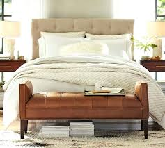 leather bedroom bench inspirational lorraine tufted leather bench tufted leather bed black leather tufted sleigh bed