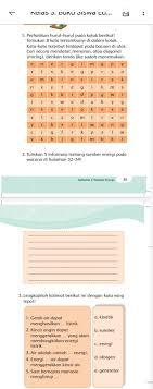 Kunci jawaban tts ini saya berikan untuk anda yang tidak begitu paham dengan soal yang diberikan game tts tersebut. Kunci Jawaban Tema 6 Kelas 3 Halaman 34 35 36 37 Buku Tematik Subtema 1 Pb 4 Kata Sembunyi Sumber Energi Metro Lampung News