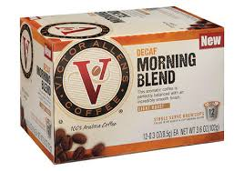 Includes 200 single serve instant coffee k cups. Victor Allen S Coffee Decaf Morning Blend Coffee Pods 12 Count At Menards