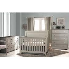 White Crib And Dresser 5 In 1 Convertible Crib White Nursery