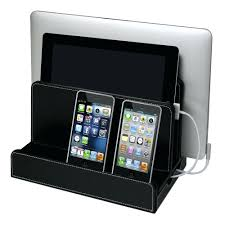 Organizer Charging Station Leatherette Multi Charger Station By Home  Improvement Diy Phone Charging Station Organizer