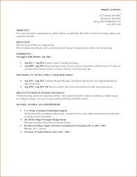 Work Resume For College Student - April.onthemarch.co