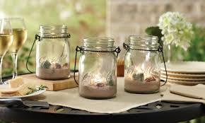 3-Piece Hanging Mason Jar and Tealight Set: 3-Piece Hanging Mason Jar ...
