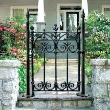 wrought iron garden gates cast gate edinburgh stockport