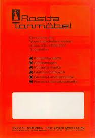 Rosita Tonmöbel Programm 74