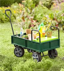 garden cart. Main Image For Garden Cart With Built-In Seat 6